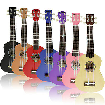 SUNWOLF Beginners Kids Ukulele Uke Soprano Musical Instrument Guitar 4 String