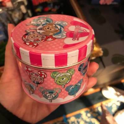 Disney pin Hong Kong Disneyland HKDL Lollipop mystery tin Marie stitch Cheshire