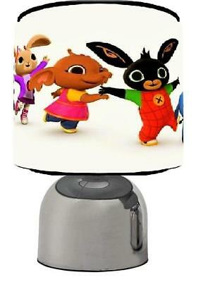 Bing Character Touch Lamp  Kids  Room Matches Duvet Set  Free P&p