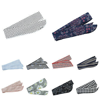 Women's Vintage Wired Hair Band Headband Accessories Bandana Wrap Twisted Scarf