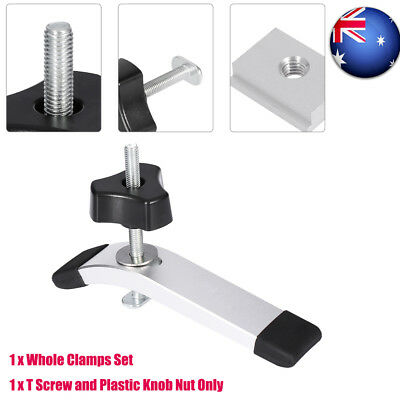 T-track Miter Track Down Clamps Device DIY Woodworking T-slot Tool Quick Acting