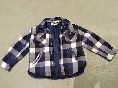 Stella McCartney Kids Blue Checked Shirt, 18 Months