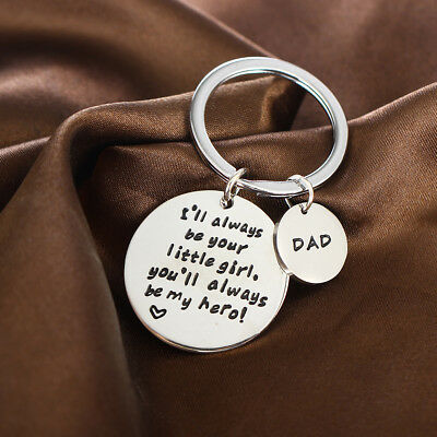 Gift For Dad Daddy Thank You Daughter Keyring Birthday Father Key Ring