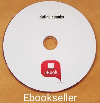 Satire, Vintage 200 + ebooks, for Kindle, iPad, iTouch, Mixed Media, on disc