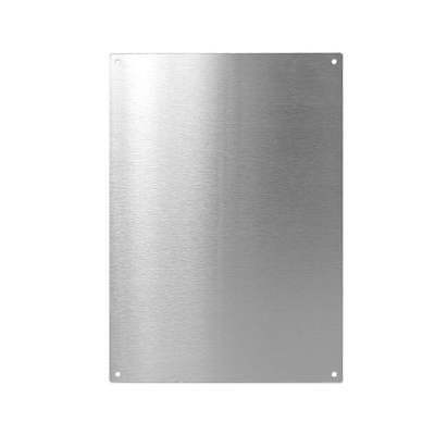 Brushed Stainless Steel Magnetic Notice board/Message Board A1, A2, A3, A4