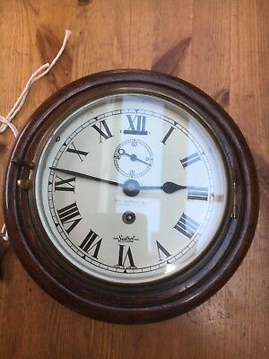 Henry Browne & Sons Ltd Ships Clock