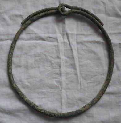 Viking bronze Neck Torc