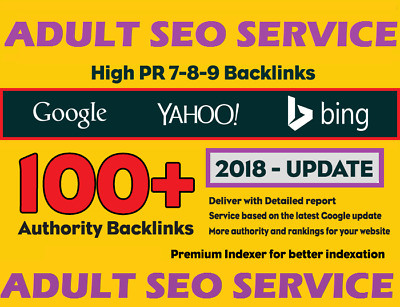 Adult Service . Get 100 Unique SEO Backlinks On DA100-50 Sites .Google 100% SAFE
