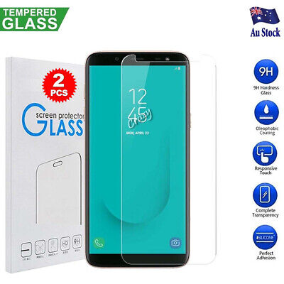 [2 Pack] Samsung Galaxy J6 2018 Premium Tempered Glass Film Screen Protector