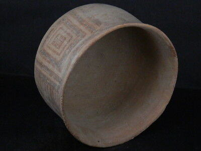 Ancient Large Size Teracotta Painted Pot Indus Valley 2500 BC #Ik512