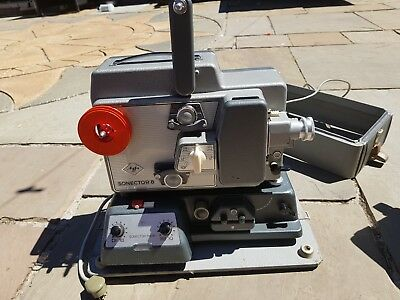 8mm film projector sonector 8 made in Germany