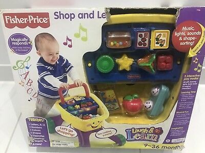 Fisher And price laugh and learn - Shop And Learn Walker
