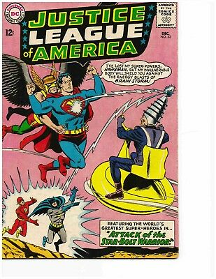 JUSTICE LEAGUE OF AMERICA #32 (Dec 1964) Very Good
