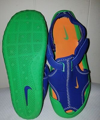 NIKE Sunray Protect  Water Shoes Sporty Beach Sandals Youth Sz 1 EXCELLENT