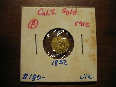 1852 California Gold Coin