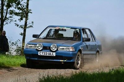 Classic Rally Car . Rover 216 s