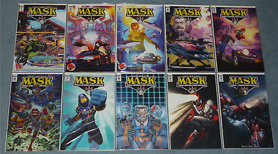 Us M.a.s.k. # 1 - 10 + Annual + Special # 1 Komplettset New Series Mask Idw