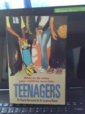 Parenting book - What to do when your children turn into TEENAGERS