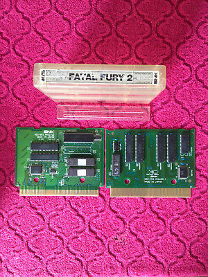 Neo Geo MVS Fatal Fury 2 US Cartridge