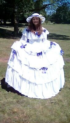 Ladies Southern Bell or Victorian Dress …