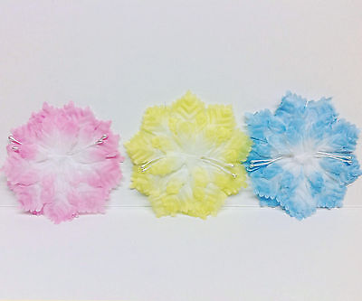 144 pc Carnation Flat Flower Pack For Capias Corsages Pin ons Souvenirs
