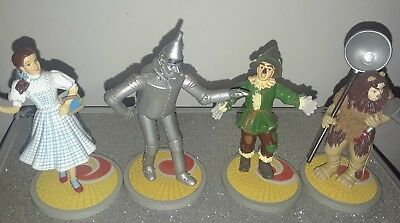 The Wizard Of Oz Dorothy, Tin Man, Scarecrow, Cowardly Lion figures from Enesco