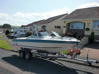 Relisted Spares Or Repairs Please Read Invader 190 Sports Boat With Trailer