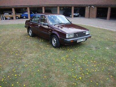 Datsun / Nissan Sunny 1.3 GS with Original 15,988 miles with History. Time warp.