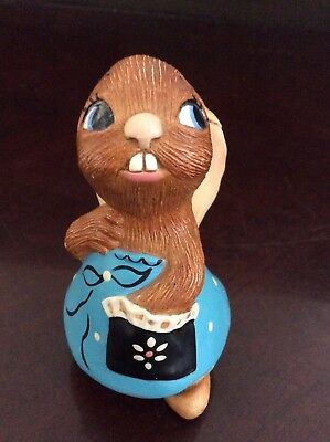 Pendelfin England Lucy Pocket Stone Craft Hand Painted Figurine Collectible