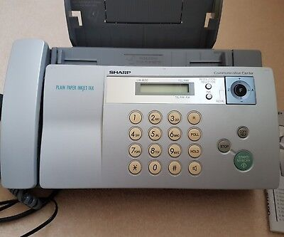 Sharp Fax Machine With Copy Function