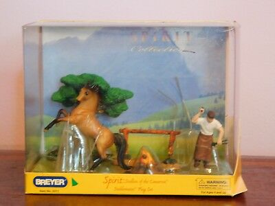 Breyer Spirit Stallion of the Cimarron Playset (*No grey horse)