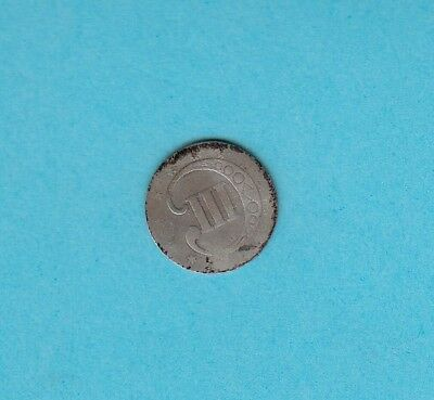 US Three Cent Silver Coin