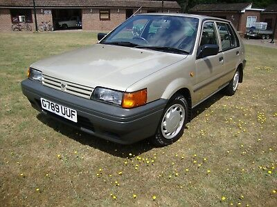 Datsun Nissan Sunny 1.6 GS  Only 2 Previous owners covering only 24,000 miles.