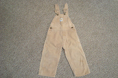 Carhartt Bibs Boys Girls Jeans Working Hunting Sporting Playing - size 3T