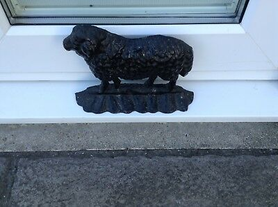 Antique Cast Iron Door Stop