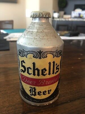 Schell's Deer Brand NON IRTP  CROWNTAINER BEER CAN USBC 198-27