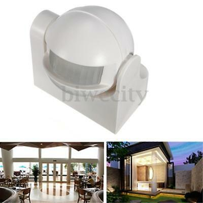 220-240V Outdoor 180°Security PIR Motion Movement Sensor Detector Switch S190