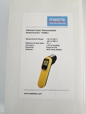 Metris Instruments Infared Laser Thermometer