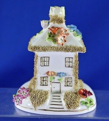 Vintage Coalport England Summer House Fine Bone China Figurine