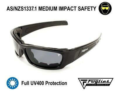 Fuglies PC11 Safety Sunglasses - AS/NZS1337.1 UV400 Safety Glasses