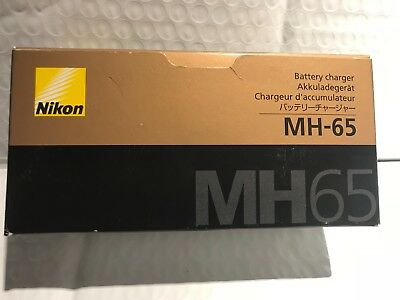 Genuine Nikon MH-65 Battery Charger (OEM)  BRAND NEW !!