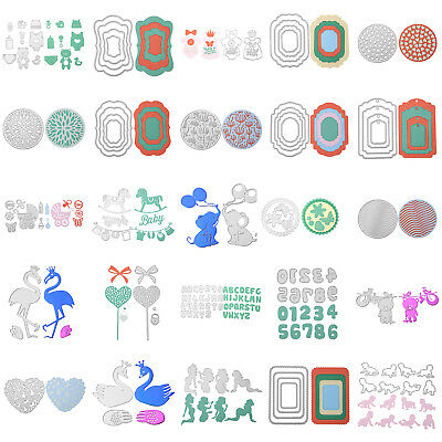 Various Shape Cutting Dies Stencil Frame for Scrapbooking Embossing Album Card