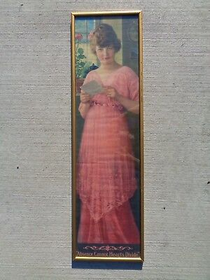 The Original Vintage Pompeian Beauty Advertsing Pin Up Print Poster