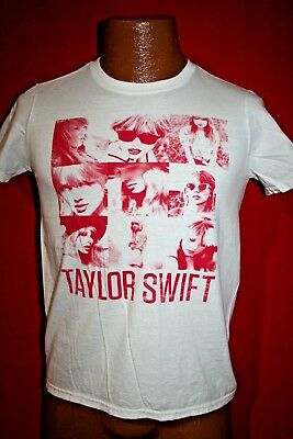 TAYLOR SWIFT Red Concert Tour T-SHIRT Adult Small COUNTRY MUSIC