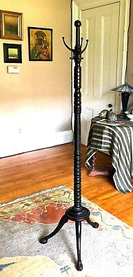 Antique. Floor Hat/Coat Tree/Stand~All Original/ 18th-19h C
