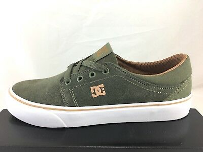 DC Shoes Trase SD Mens Olive Suede Skate  ADYS300172 Choose Size