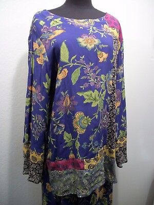 VINTAGE CAROLE LITTLE Size 10  2 Pc Skirt & Top Outfit FABRIC France Floral