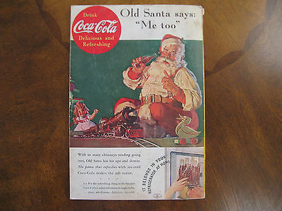 Nationalgeographic Magazine December 1936 With Coca Cola Ad On Back Cover