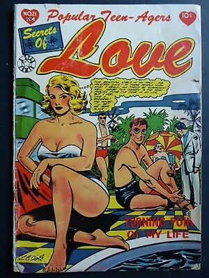 Popular Teen-Agers #21 (1954) Star ~ GD- ~ L.B. Cole cover