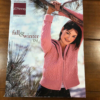 Used 2004 J.C. JC Penney Catalog Fall Winter Big Book